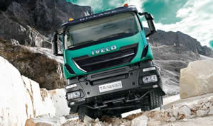 Gethings Garage Enniscorthy - Iveco Dealers - Iveco Trakker Construction Truck