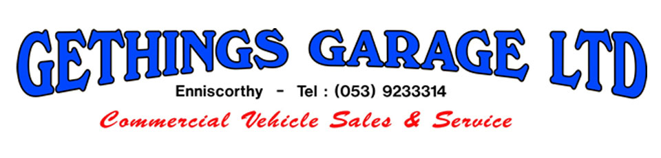 Gethings Garage Enniscorthy, Co. Wexford - Iveco, Hino, Isuzu, Fiat Professional Dealers