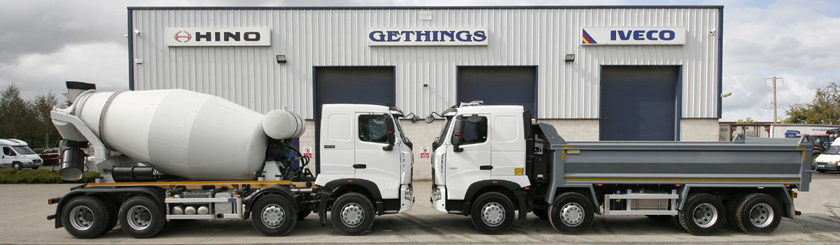 gethings garage iveco dealers isuzu dealers hino